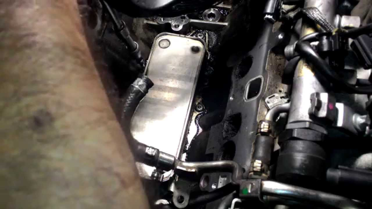 come smontare lo scambiatore di calore mercedes ml 320 - youtube