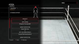 WWE 2K17:Adam Rose moveset(Xbox 360/PS3)