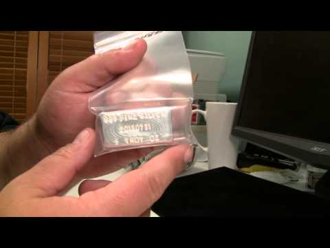 Silver Unboxing - Homemade Hand Poured 5oz .999 Silver Bar