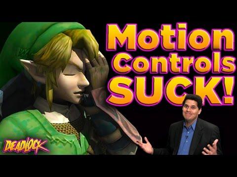 Zelda: Do Motion Controls RUIN Gameplay? - DeadLock (ft. Reggie from Nintendo)