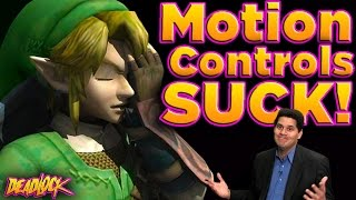 Zelda: Do Motion Controls RUIN Gameplay? - DeadLock (ft. Reggie from Nintendo)
