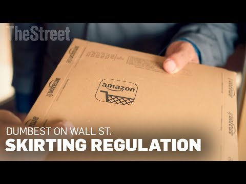 Only Wall Streets Dumbest Think Amazon Will Be Able to Skirt Regulation Forever