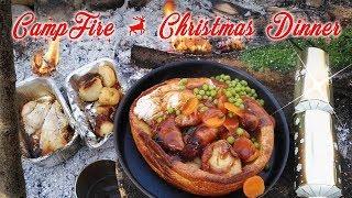 Camp Fire Christmas Dinner