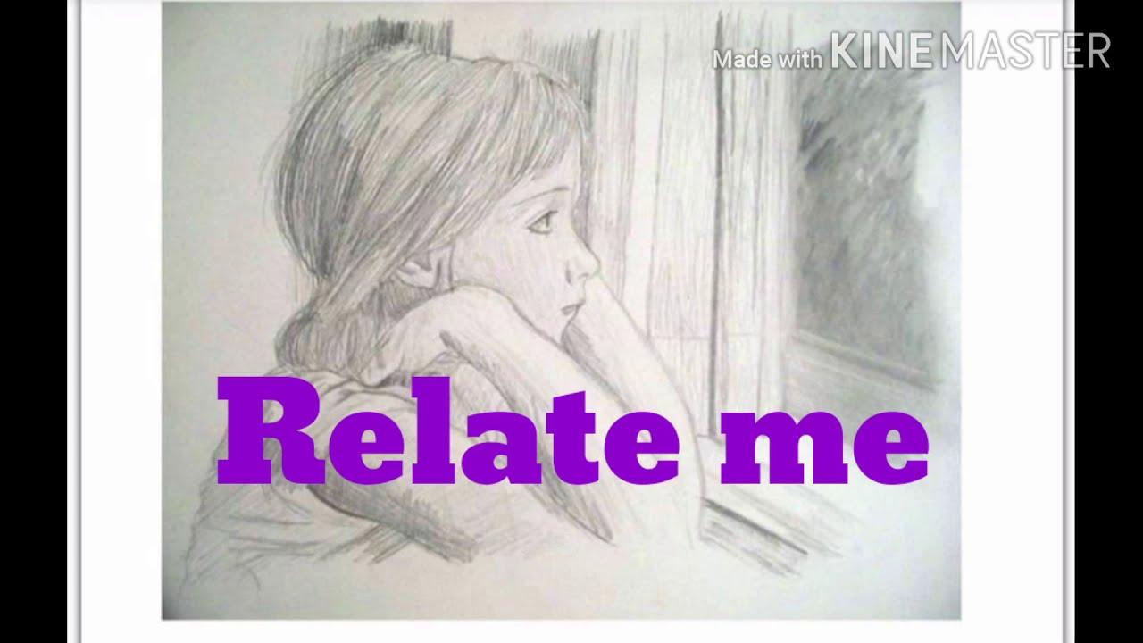 #Feel me#Relate me