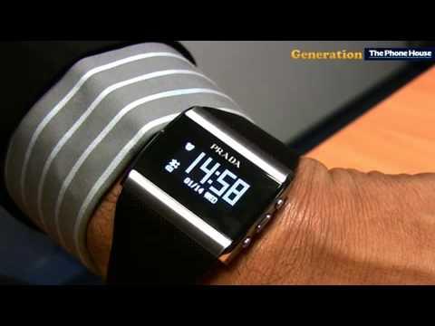 LG Prada 2 et montre Bluetooth Prada 2