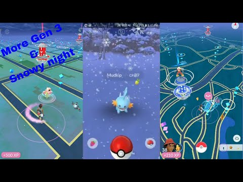 Download Youtube: Pokemon Go Gen 3 part 3 ( Catching on a snowday)!