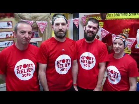 Darryl Walsh's Sport Relief 2016 Poole School Run Ultra Marathon