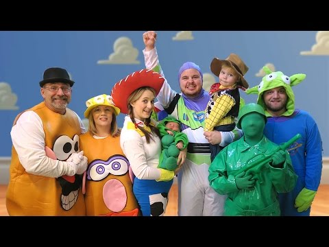 TOY STORY HALLOWEEN SPECIAL - Daily Bumps Halloween Special 2015