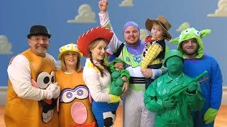 One of Daily Bumps's most viewed videos: TOY STORY HALLOWEEN SPECIAL - Daily Bumps Halloween Special 2015