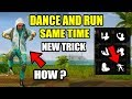 PUBG MOBILE NEW SECRET TRICK Which you dont know! Dance And Run Same Time !