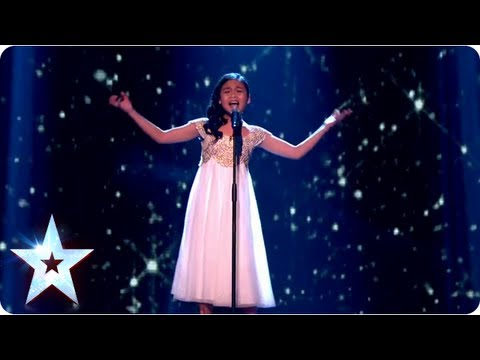 Arisxandra Libantino singing 'The Voice Within' | Final 2013 | Britain's Got Talent 2013