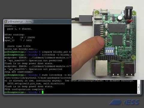 Project IceStorm: fully open-source FPGA tools