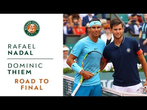 Rafael Nadal vs Dominic Thiem - Road to the final I Roland-Garros 2018