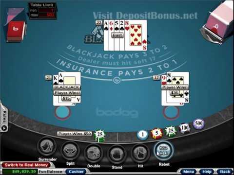 Casino bodog free blackjack