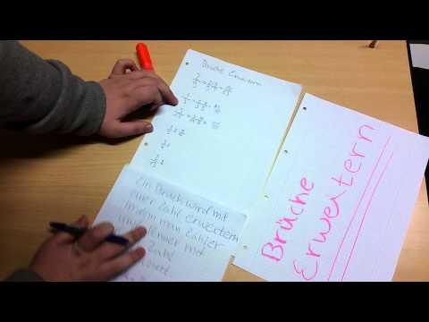 Schülervideo BE115 Bruchrechnen 1