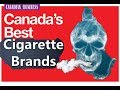 Top Most best-selling Smokes or cigarette brands in Canada