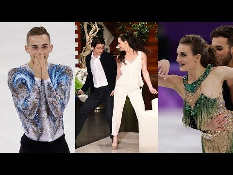 Figure Skating's Top 5 Social Media Moments feat. Tessa Virtue, Scott Moir, Adam Rippon