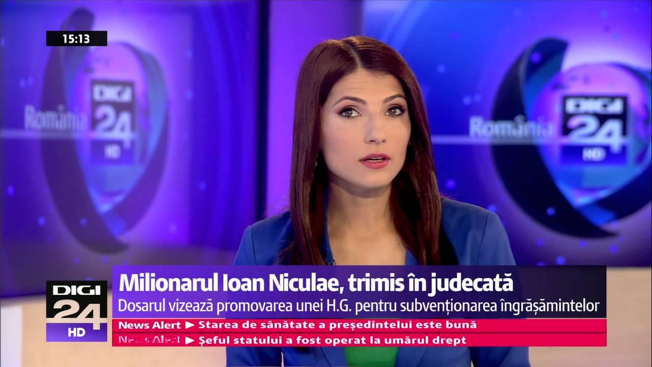Milionarul Ioan Niculae, trimis în judecată