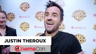 The LEGO NINJAGO Movie | Justin Theroux Interview | CinemaCon 2017