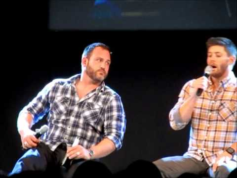 JIB4 Supernatural Convention  TY and Jensen Ackles Panel PART 1