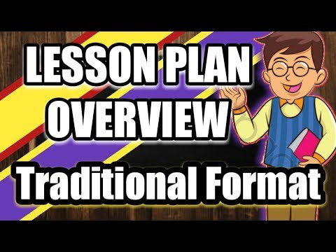 Lesson Plan Overview: