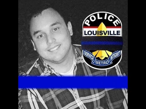Full Funeral Procession for Louisville Metro Police Officer, Nick Rodman (x2 Speed)