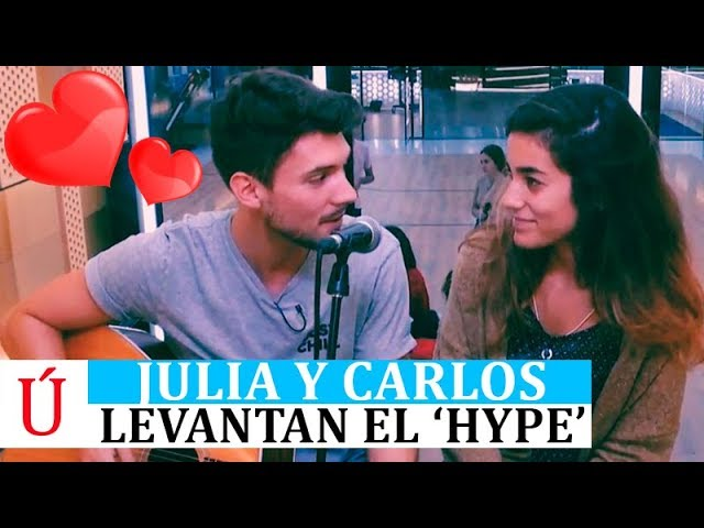 Julia y Carlos hacen saltar las alarmas de Operación Triunfo antes de la Gala 1 de OT 2018