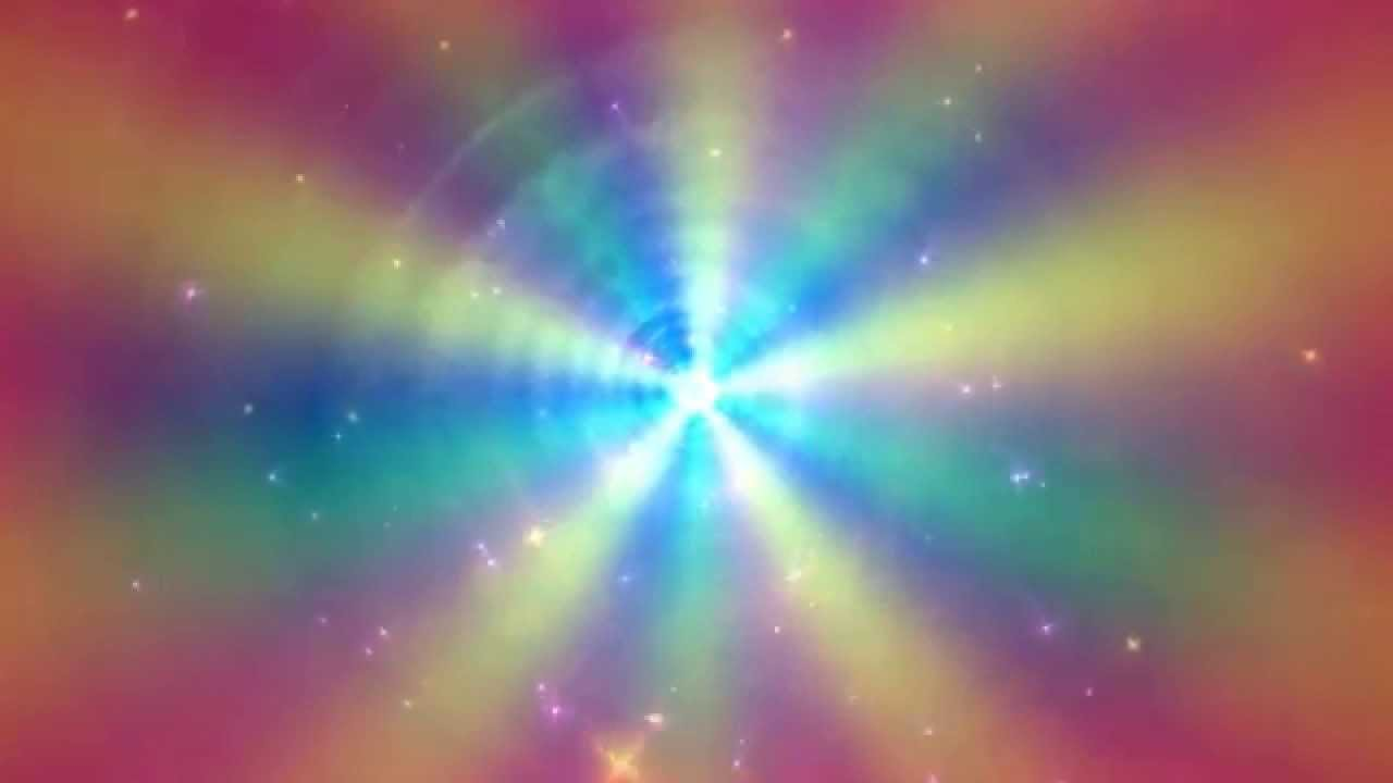 60FPS Soft Calm Colorful Rays Tunnel Background Animation ... - photo#8
