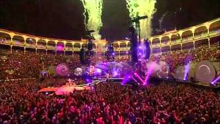 Coldplay - EVERY TEARDROP IS A WATERFALL live in Madrid Oct. 2011.