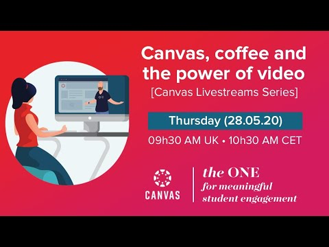 Canvas, Coffee & the Power of Video
