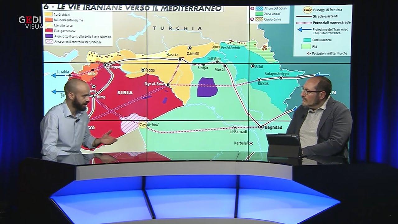 ⚔️ Mappa Mundi: Chi comanda in Medio Oriente e il ritorno dell'Isis