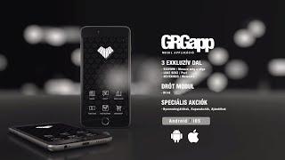 GRGapp | A GARAGE hivatalos mobilapplikációja
