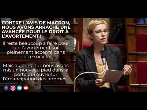 Contre Macron, nous arrachons une avancée pour le droit à l'IVG !