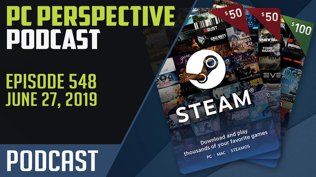 PC Perspective Podcast #548 - Steam Gift Card Giveaway, Intel Price