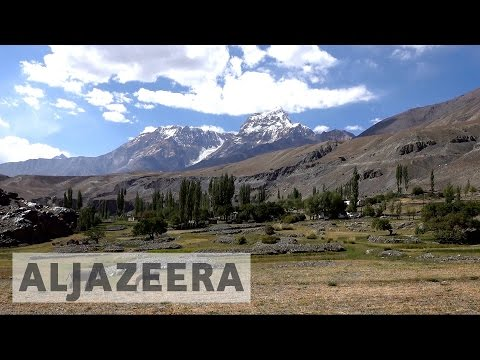 Increasing global temperatures changing Tajikistan's landsca
