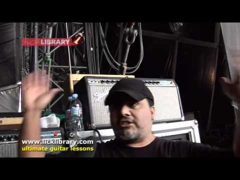 Lenny Kravitz Guitar Tech Alex Alvarez Gear Overview - V Festival