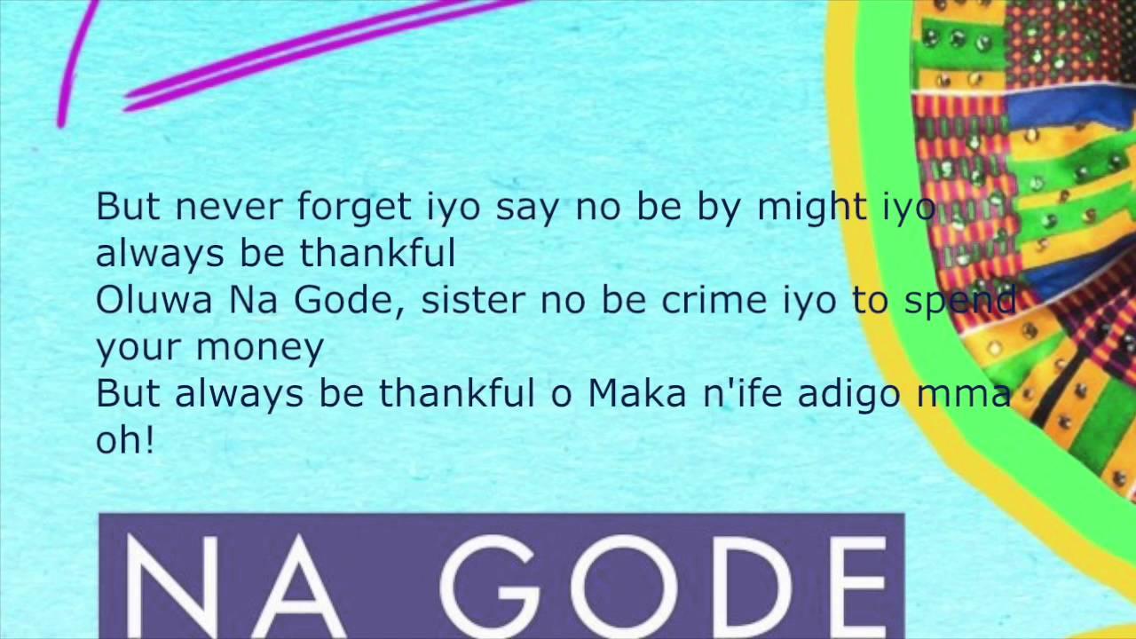 Download Na Gode Lyrics - Yemi Alade