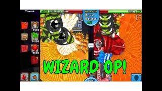Dreadbloon Cave- Wizard Battle (Bloons TD Battles/BTD Battles)