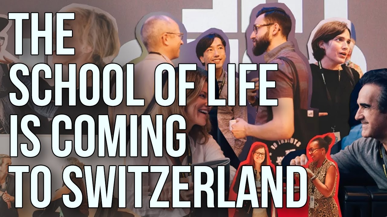 The School of Life is coming to Switzerland