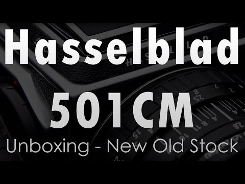 Hasselblad 501CM Unboxing - New Old Stock