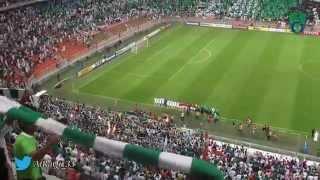 تيفو الأهلي + النشيد   في مباراة الملحق الآسيوي ضد القادسية الكويتي 2- 1 للملكي HD