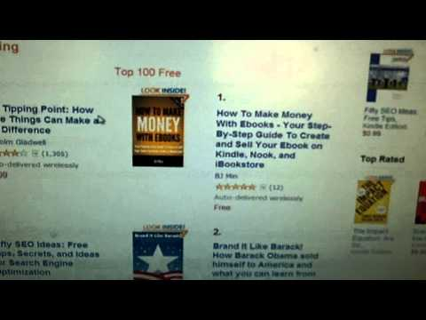 My Ebook Hits #1 on Amazon's Best Seller List on Business-Marketing & Business-Writing Categories!