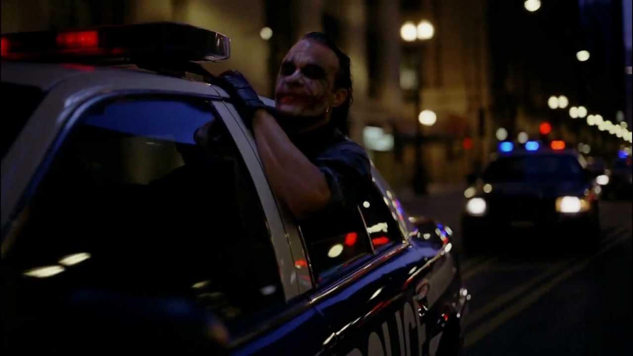 The Dark Knight Rises Very Funny Drunk Guy Heath Ledger
