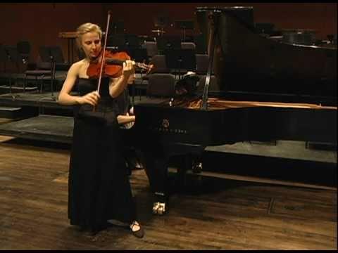Bach Prelude from Partita No. 3 in E Major BWV 1006, transcribed for Viola and Piano