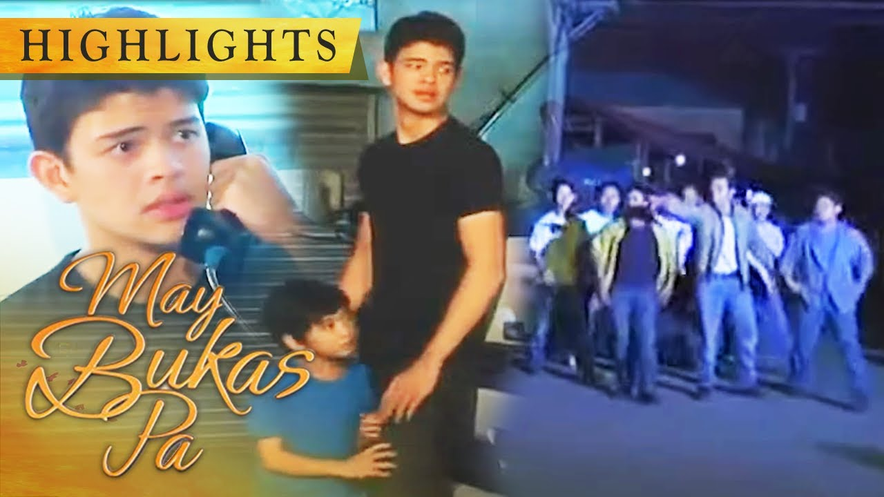Kokoy and Santino are chased by people | May Bukas Pa