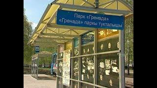 Челнинские остановки продолжают клеймить объявлениями