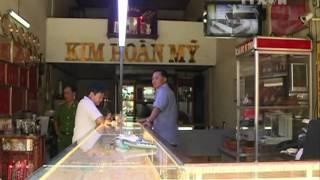 Bắt giữ đối tượng cướp tiệm vàng tại Thành phố Hồ Chí Minh