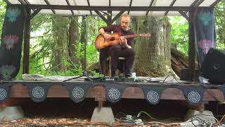 Don Anderson performs solo, acoustic Agalloch song at Litha Cascadia, June 2019