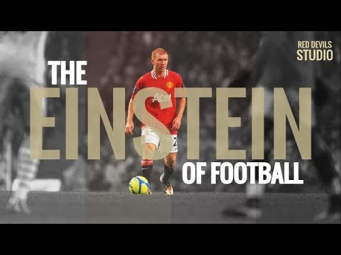Paul Scholes - The Einstein of football by @RedDevil_Studio