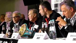 KlitschKO vs Solis - Eklat Post Fight Pressekonferenz
